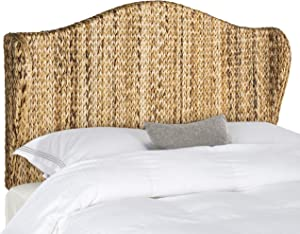 Safavieh Home Collection Nadine Natural Winged Headboard, Queen
