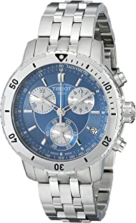Tissot Men's T0674171104100 PRS 200 Blue Chronograph Dial Watch