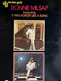 Ronnie Milsap Featuring: It Was Almost Like a Song Piano/vocal/chords