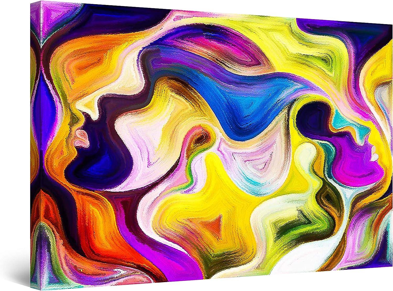 Startonight Canvas Wall 商店 Art Abstract Love Paint 新品未使用 - Faces