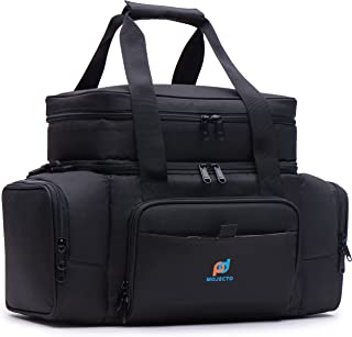 Cooler Lunch Bag. Multiple Insulated Compartments, Heavy Duty Fabric, Thick Foam Insulation, Heat Sealed Peva Liner, Many ...