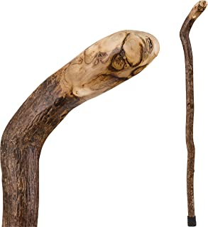 Brazos Walking Cane for Men and Women Handcrafted of Lightweight Wood and made in the USA, Knob Root, 37 Inches