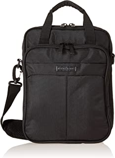 Perry Ellis Leo Case with Handle Fits Most Ipads/Tablets/netbooks Laptop Bag, Black, One Size