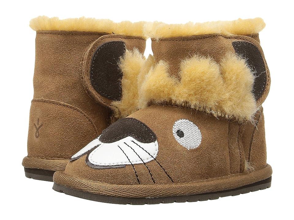 26493400483 Emu Australia Kids Wallaby Mini Toddler Little Kid Chestnut Kids Shoes