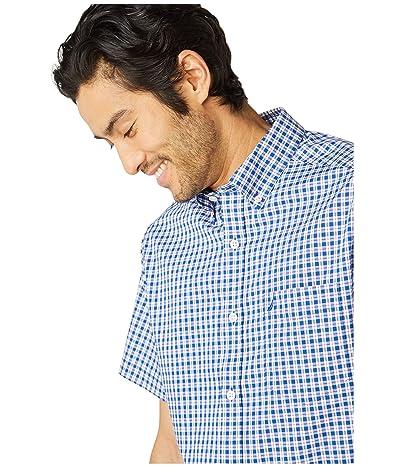 Nautica Classic Fit Wrinkle Resistant Plaid Shirt (Blue) Men