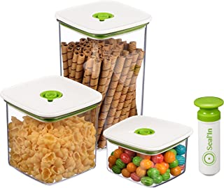 Seal'In Food Storage Vacuum Containers with
