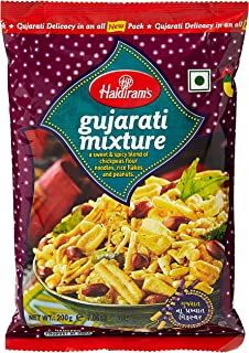 Haldirams Gujarati Mixture Snacks - 200 gm