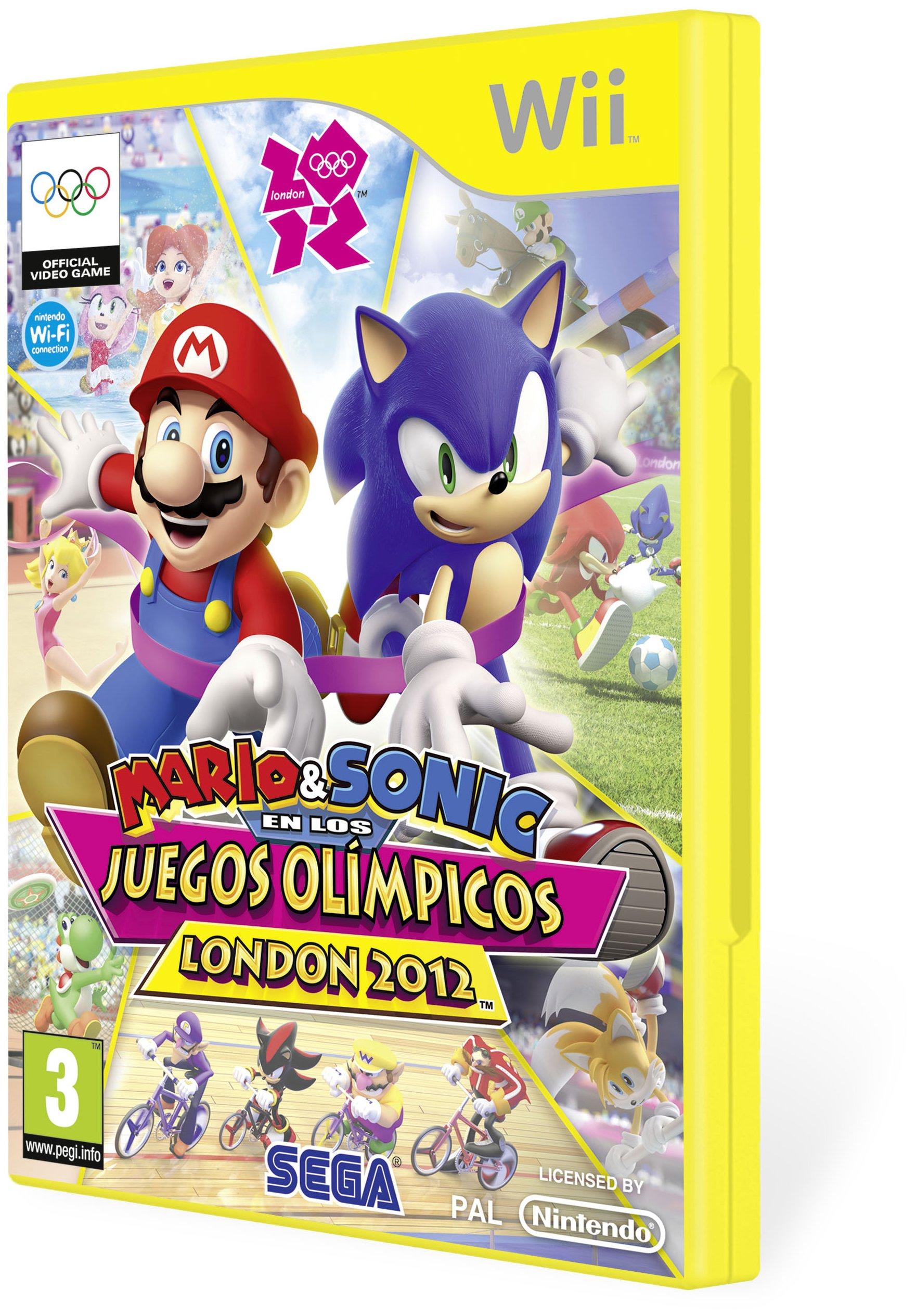 Mario&Sonic en los Juegos Olímpicos London 2012: Amazon.es: Videojuegos