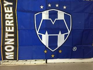 Rayados de Monterrey Flag Banner 3x5 Mexico Futbol Soccer Bandera
