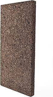 JOCAVI ECOiso SPL60a Sound Absorbing & Soundproofing Cork Acoustic Panels, 100% Natural Noise Deadening, Anti-Vibration Insulation, Brown, 19.7