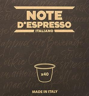 """Note D""""Espresso Red Forrest Fruit Infusion, Kapselnausschließlich kompatibel mit Nespresso-Kapselmaschinen 3 g x 40 Kapseln"""