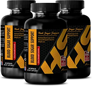 Heart Health Products - Blood Sugar Support - Extra Strength Formula - Bitter Melon Herbal Supplement - 3 Bottles 180 Caps...