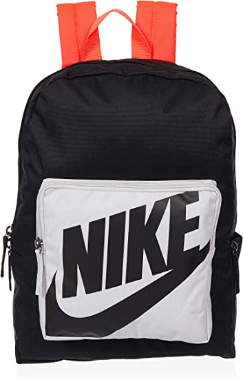 Contradecir ideología Sofocante  Amazon.com: Nike Classic Kids' Backpack (One Size, Black(BA5928-011)/Vast  Grey): Computers & Accessories