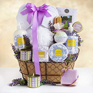Spa and Getaway Gift Basket | Lavender Scented