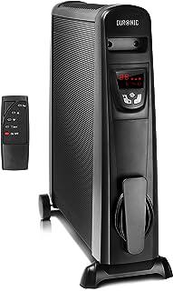 comprar comparacion Duronic HV102 Radiador Eléctrico 2500W de Panel de Mica - Estufa sin Aceite Que calienta en 1 Minuto – Control por Pantall...