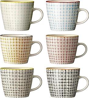 Bloomingville Tasses à café Carla, 6 pièces