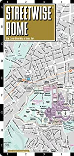 Streetwise Rome Map - Laminated City Center Street Map of Rome, Italy (Michelin Streetwise Maps)