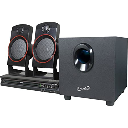 Supersonic SC-35HT SC-35GT 2.1 Home Theater System (Discontinued by Manufacturer)