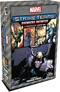 Wizkids Marvel Strike Teams Strategy Game Avengers Initiative Board Games
