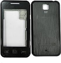 TOTTA Full Body Housing Back, Body Panel for Samsung C6712 Star II DUOS- Black