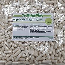 Apple Cider Vinegar Capsules 500mg – 365 Vegan Capsules – Premium Quality Supplement – Made in The UK by NaturPlus Estimated Price : £ 11,99