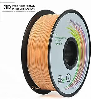 3D BEST-Q Flexible TPU 1.75mm 3D Printer Filament, Dimensional Accuracy +/- 0.03 mm, 1KG Spool, 8 Color To Choose (skin)
