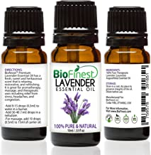 Biofinest Lavender Essential Oil - 100% Pure Undiluted - Therapeutic Grade - Bulgaria Quality - Best For Aromatherapy & Ma...