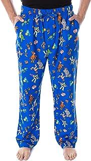 Disney Men's Toys Story Character Print Adult Sleep Lounge Pajama Pants