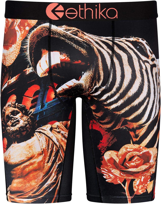 Ethika Mens Staple Boxer Briefs | 300 Zebras