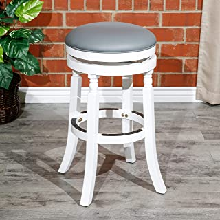 """DTY Indoor Living Palmer Lake Swivel Stool, 30"""" Bar Height or 24"""" Counter Height"""