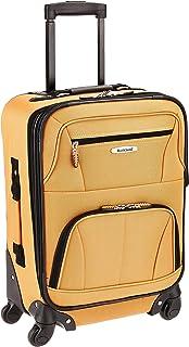 "Rockland Pasadena 19"" Expandable Spinner Carry on, Orange (Orange) - F2281-ORANGE"