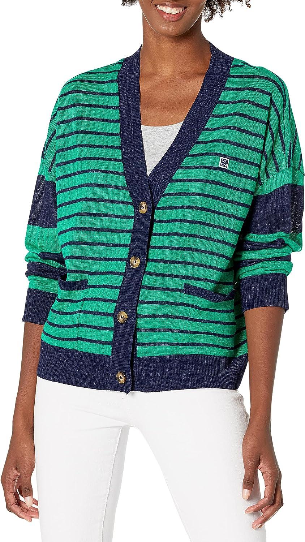 Anne Klein Jeans Women's Ak Sport Max 54% OFF Over item handling Swe Avery Cardigan Long Sleeve