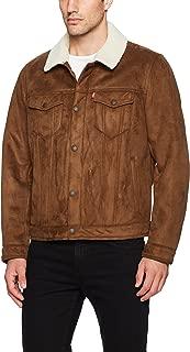 Men's Faux Shearling Sherpa Trucker Jacket