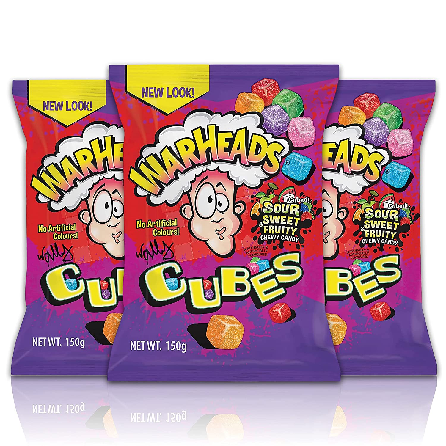Warheads Chewy Cubes 5 All items free Year-end annual account shipping Pack of oz 3