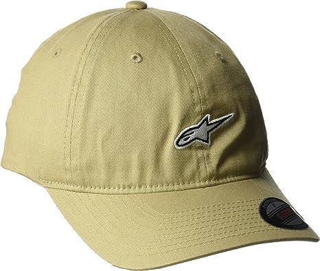 Curve Peak Men/'s casual wear Charcoal Alpinestars Stat Caps Hat