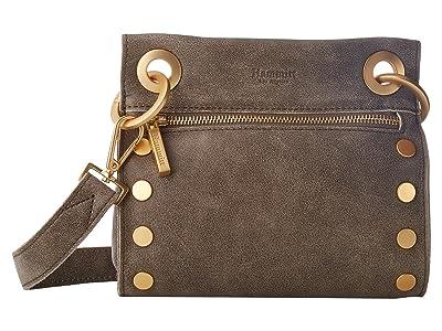 Hammitt Tony Small (Pewter/Brushed Gold) Cross Body Handbags