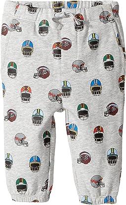 Stella McCartney Kids - Loopie All Over Helmet Printed Sweatpants (Infant)