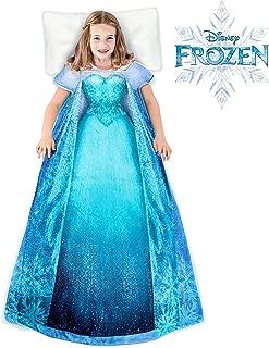 Blankie Tails Disney Elsa Frozen Wearable BlanketSuper Soft-Double Sided Minky Fleece for Kids- Machine Washable Climb Inside This Cozy Disney Princess Dress