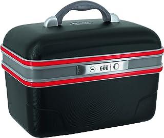 SAVEBAG - ASHOKA - Vanity rigide - noir/rouge - 34 X 20 X 23 cm - 1,6kg - 13L