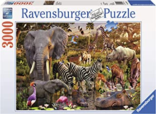 Ravensburger African Animal World Puzzle 3000pc,Adult Puzzles