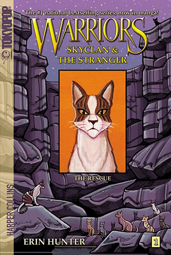 憧れ移動約束するWarriors: SkyClan and the Stranger #1: The Rescue (Warriors Manga) (English Edition)