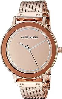 Anne Klein - Reloj de pulsera para mujer con esfera de espejo