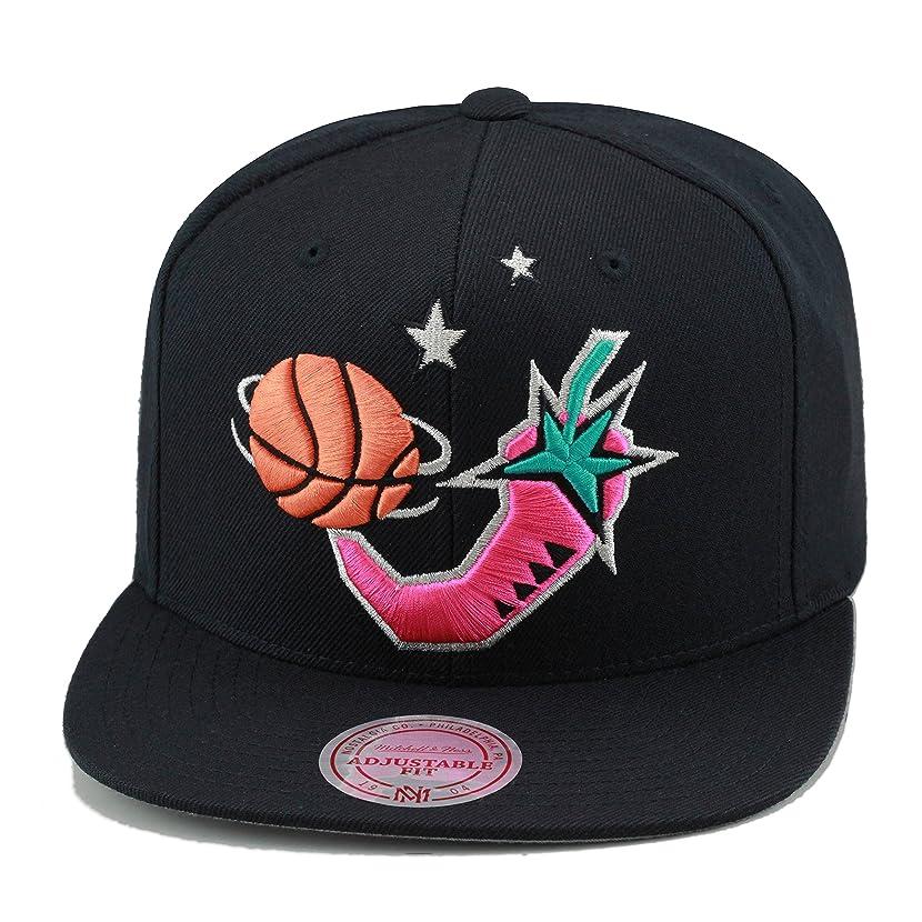 Mitchell & Ness NBA All Star Game 1996 Snapback Hat Black/Pink Pepper/Grey Bottom