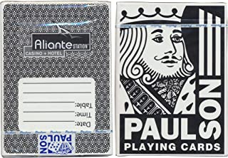 Aliante Station Casino Brand New Black Color Deck Sealed Poker Size Playing Cards