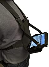 "Gig Gear Two Hand Touch Tablet Chest Harness for 12.9"" Devices. Compatible with iPad/Galaxy/Surface - Rugged, Heavy Duty, Durable Case"