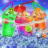Frozen Rainbow Slushy Shop Ice Slush Maker Game - Slushy Glass Decoration Frozen Cooking Game