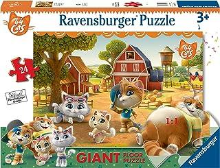 Ravensburger 03015 Puzzle 44 Chats au Sol 24 pièces