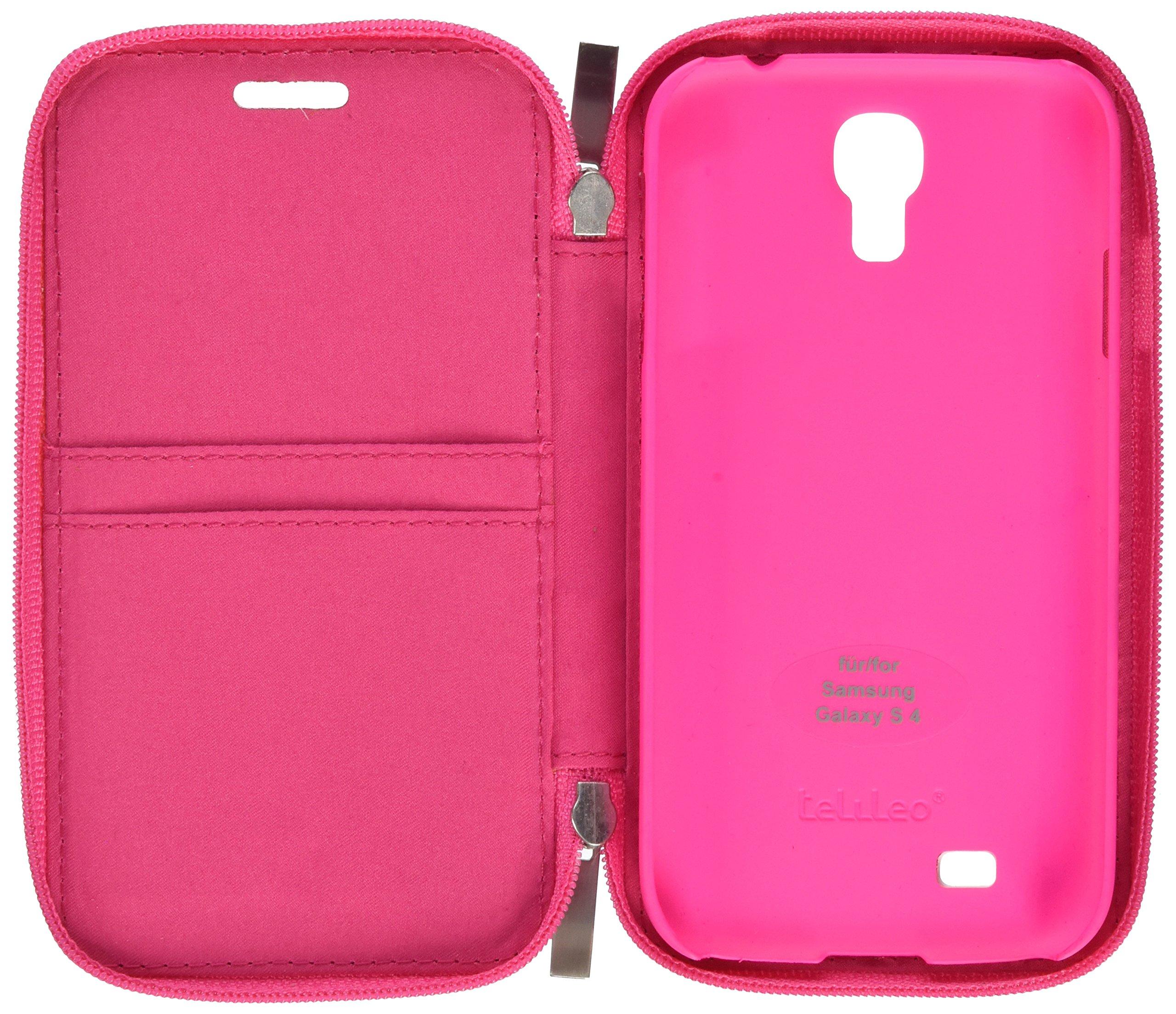 Telileo Carcasa 3551 Zip para Samsung Galaxy S4 Zara Rosa: Amazon.es: Electrónica