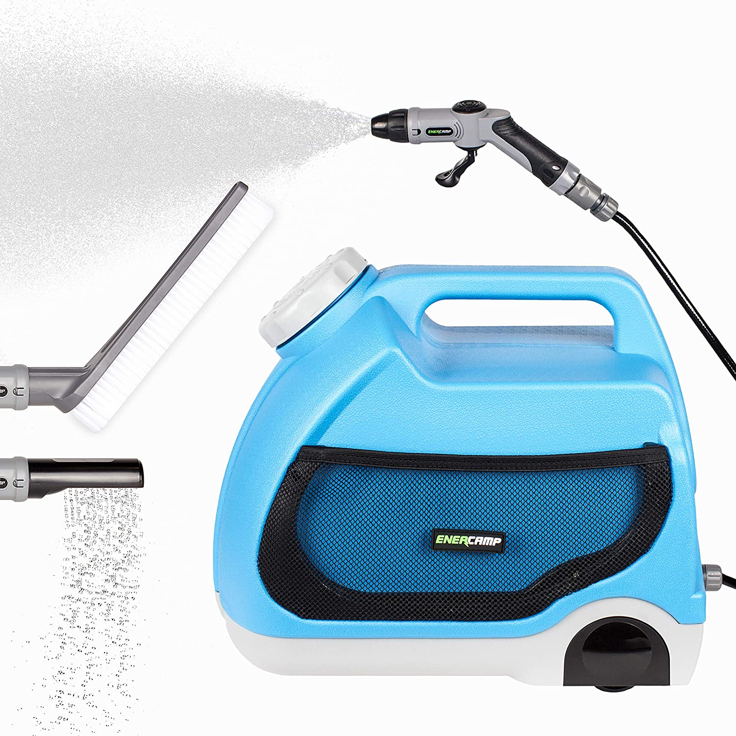 Enercamp Multipurpose Portable Spray Washer with Water Cheap mail order shopping Tank T 4 Courier shipping free shipping