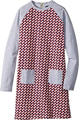 Toobydoo - Jersey Knit Shift Geo Dress (Toddler/Little Kids/Big Kids)